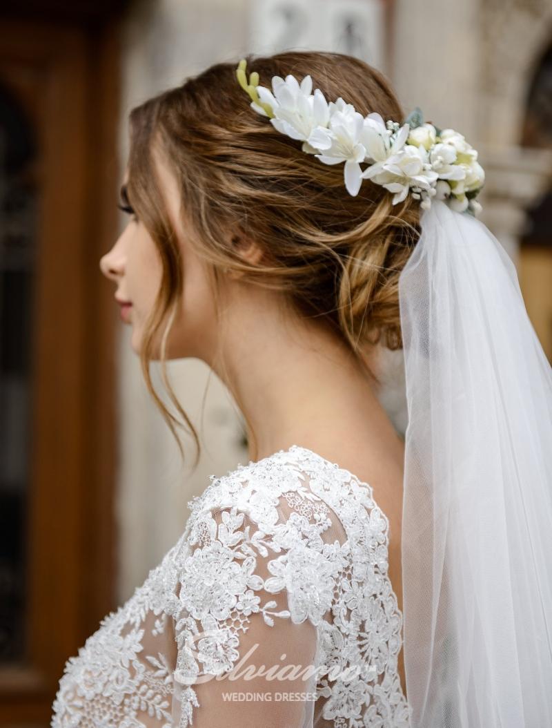 Свадебное платье Silviamo S-471-Sallie