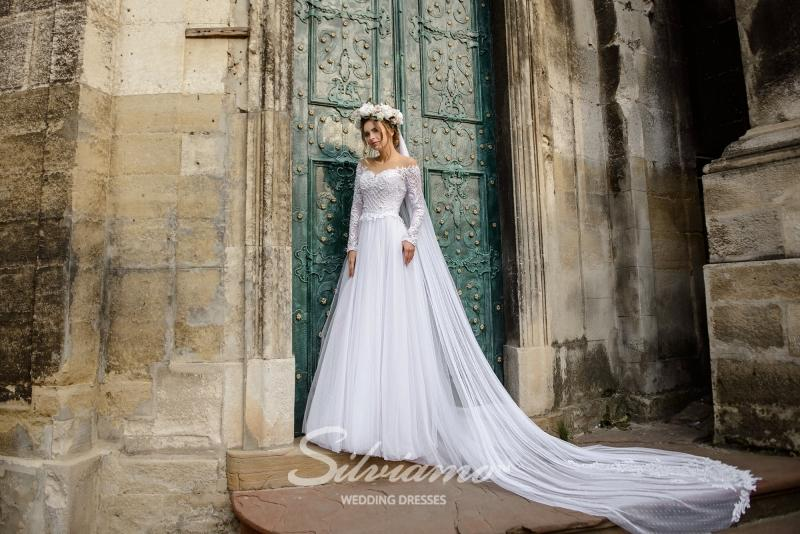Свадебное платье Silviamo S-472-Susana