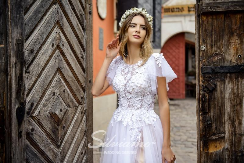 Свадебное платье Silviamo S-474-Sonia