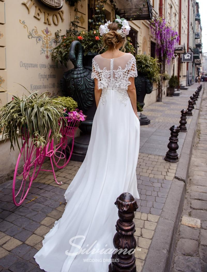 Свадебное платье Silviamo S-477-Skye