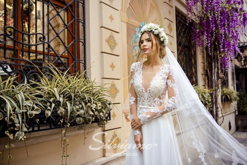 Свадебное платье Silviamo S-478-Stella