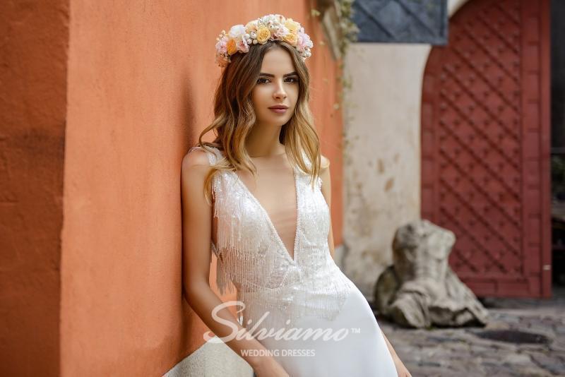 Свадебное платье Silviamo S-479-Sheila