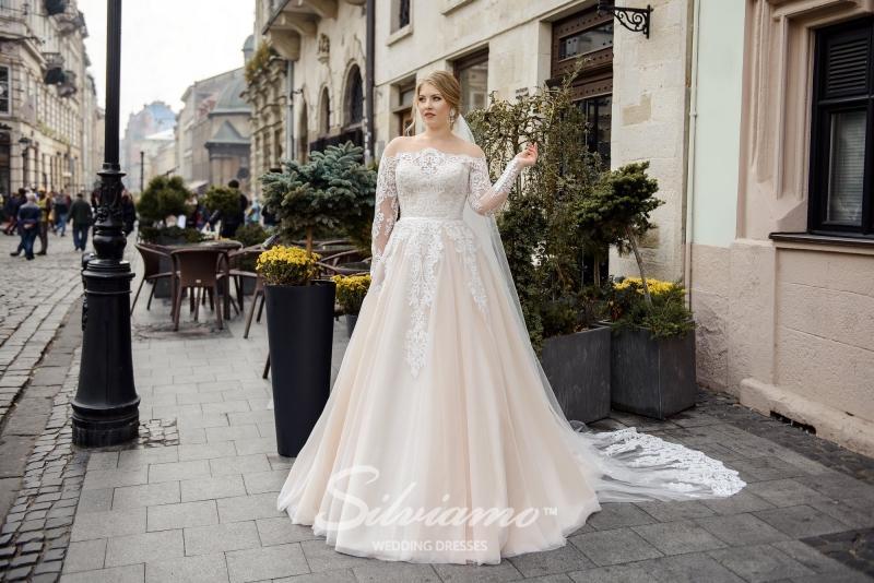 Свадебное платье Silviamo S-483-Shelby