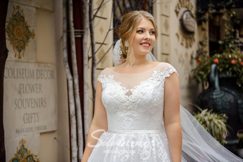 Свадебное платье Silviamo S-484-Sherry