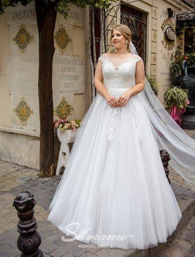 Wedding Dress Silviamo S-484-Sherry
