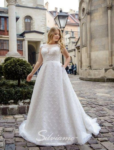Wedding Dress Silviamo S-485-Scylla