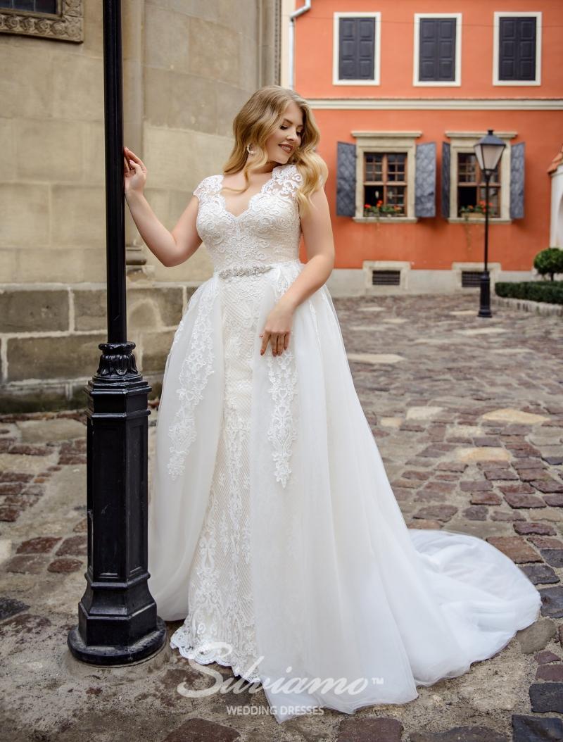 Svatební šaty Silviamo S-488-Siena