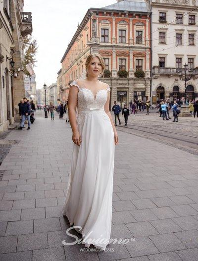 Wedding Dress Silviamo S-490-Selia