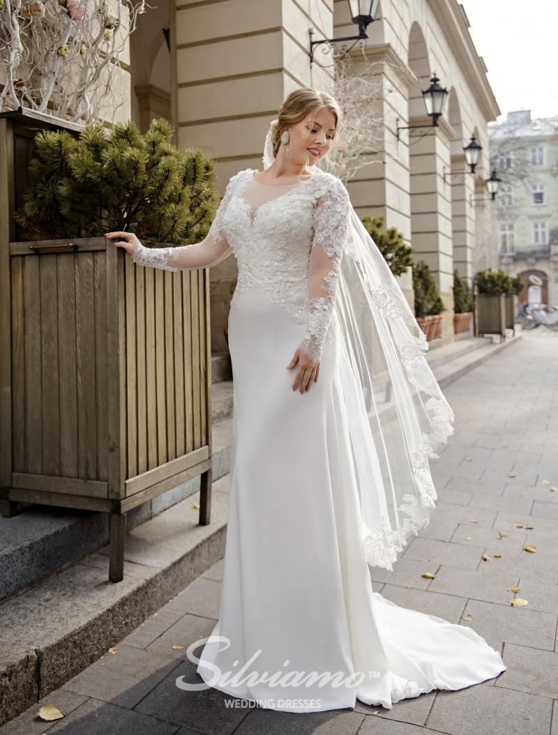 Wedding Dress Silviamo S-491-Shadi