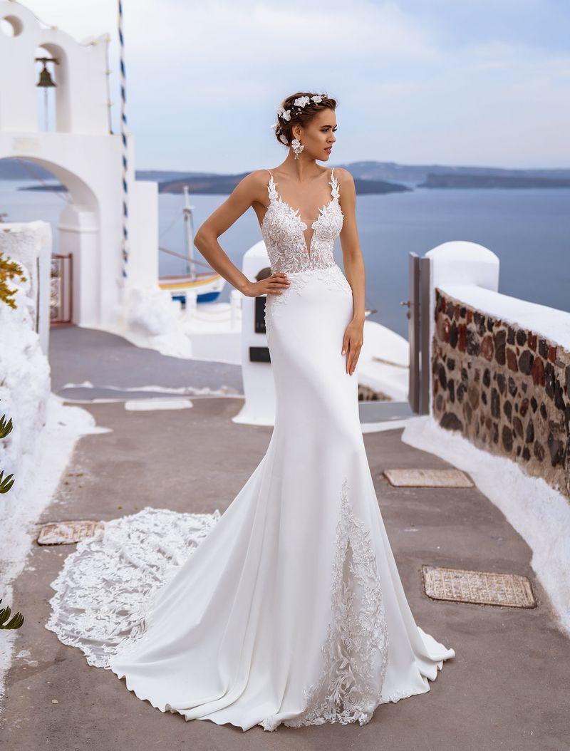 Свадебное платье Silviamo S-492-Thira