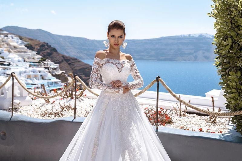Свадебное платье Silviamo S-495-Tereza