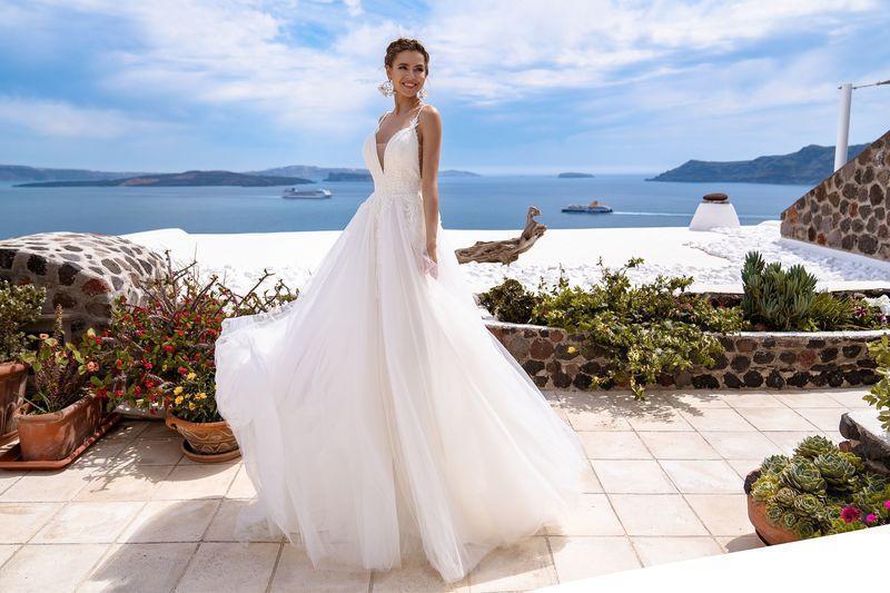 Свадебное платье Silviamo S-497-Tissa