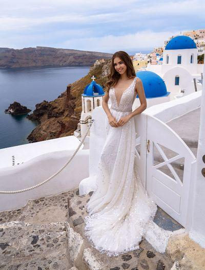 Wedding Dress Silviamo S-500-Taira