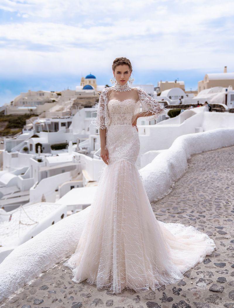 Весільня сукня Silviamo S-511-Trudy