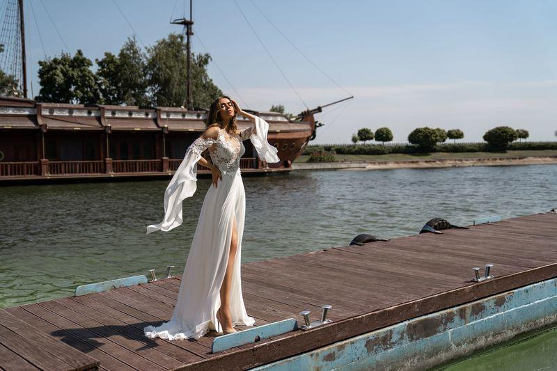 Свадебное платье Silviamo S-526-Lucia