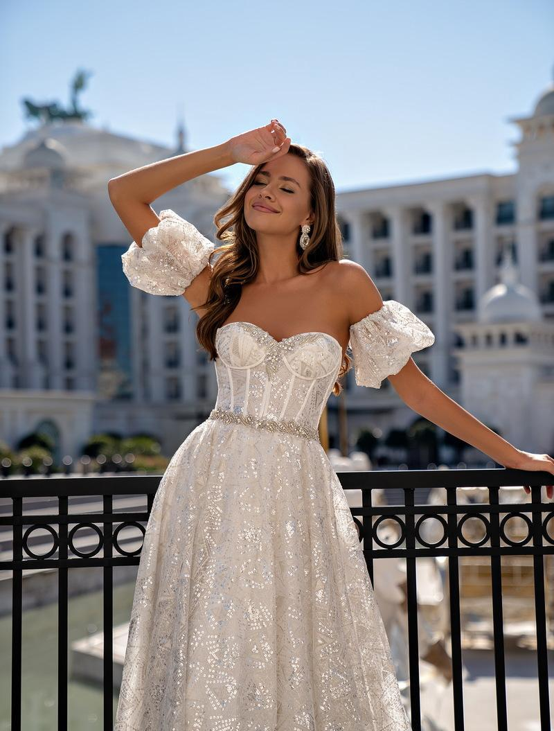 Wedding Dress Silviamo S-548-Crystal
