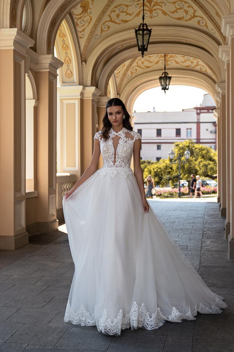 Свадебное платье Silviamo S-558-IZABELLA