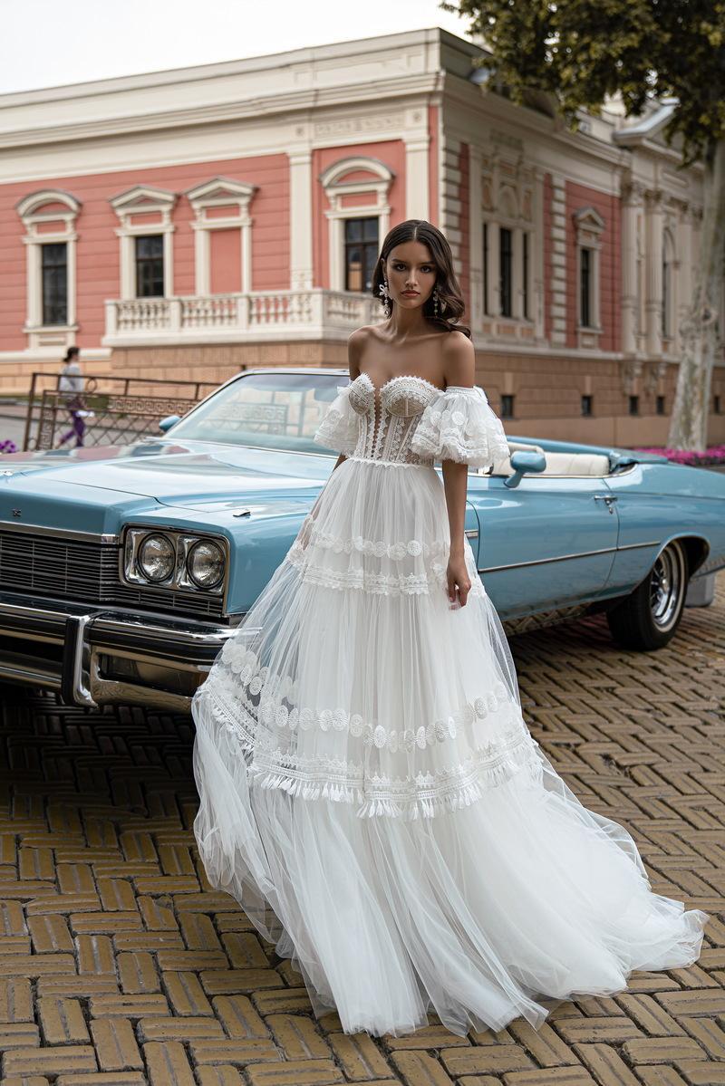Svatební šaty Silviamo S-563-ISOLDA
