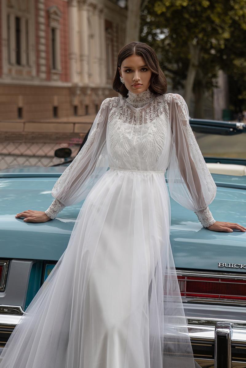 Svatební šaty Silviamo S-569-IVA