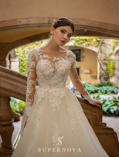 Wedding Dress Supernova SN-056-Becky