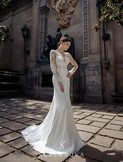 Wedding Dress Supernova SN-073-Brisha