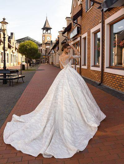 Wedding Dress Supernova SN-126-Royalty