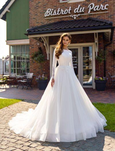 Wedding Dress Supernova SN-128-Rozmari