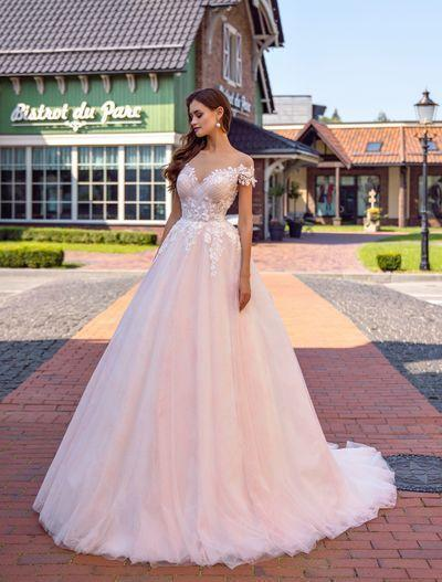 Vestido de novia Supernova SN-130-Rosa