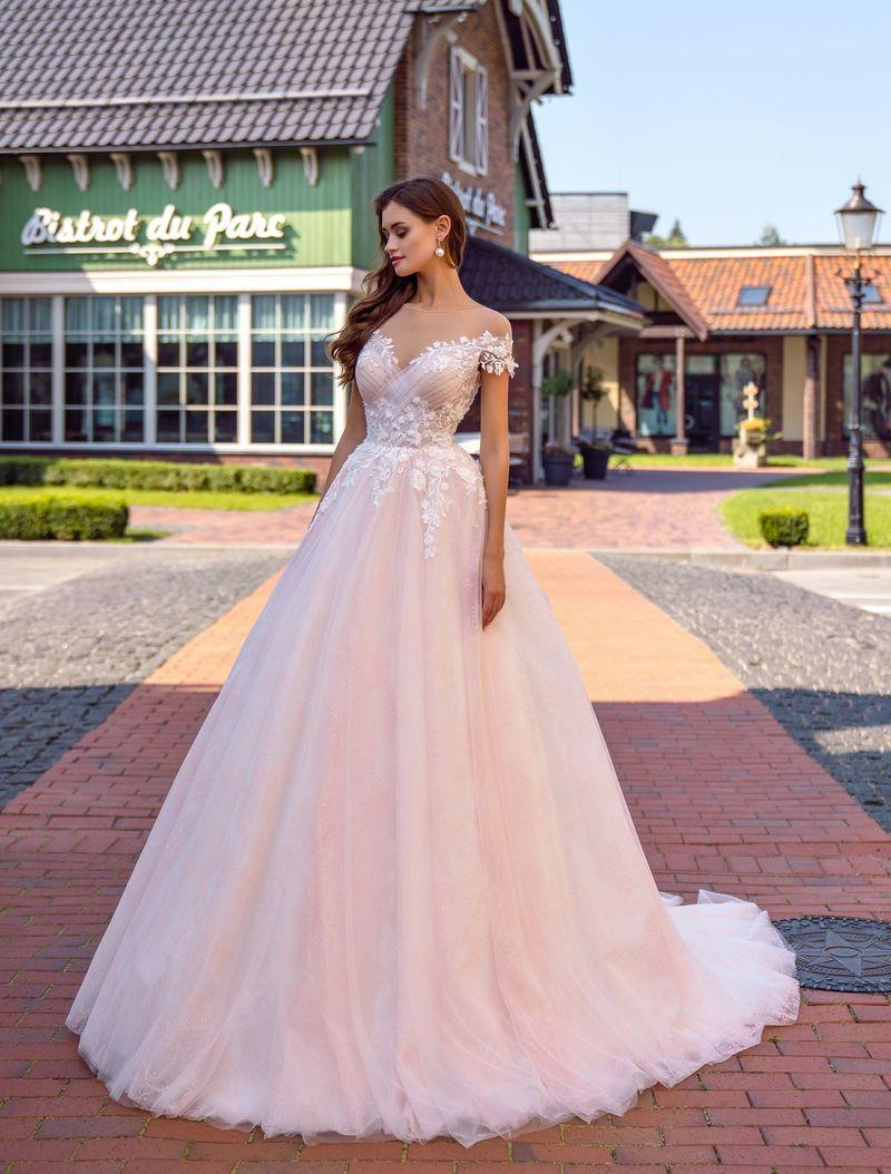 Wedding Dress Supernova SN-130-Rosa