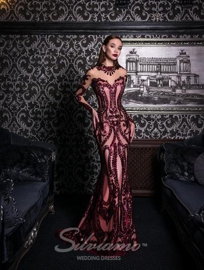 Вечернее платье Silviamo V-151