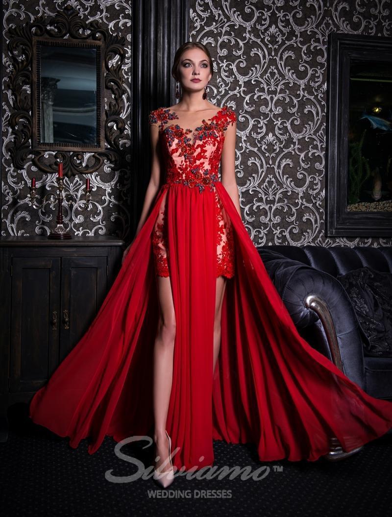 Вечернее платье Silviamo V-155