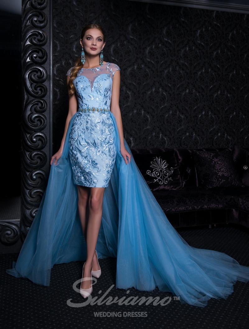Вечернее платье Silviamo V-156