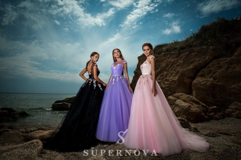 Вечернее платье Supernova VN-001
