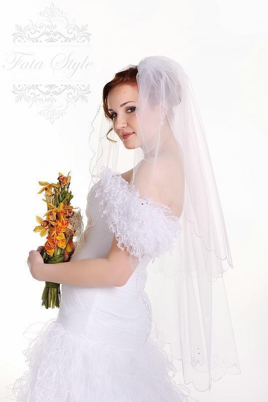 Brautschleier Fata Style Ангелина