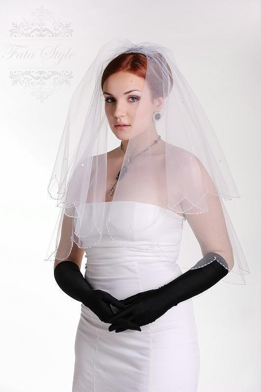 Brautschleier Fata Style Адель