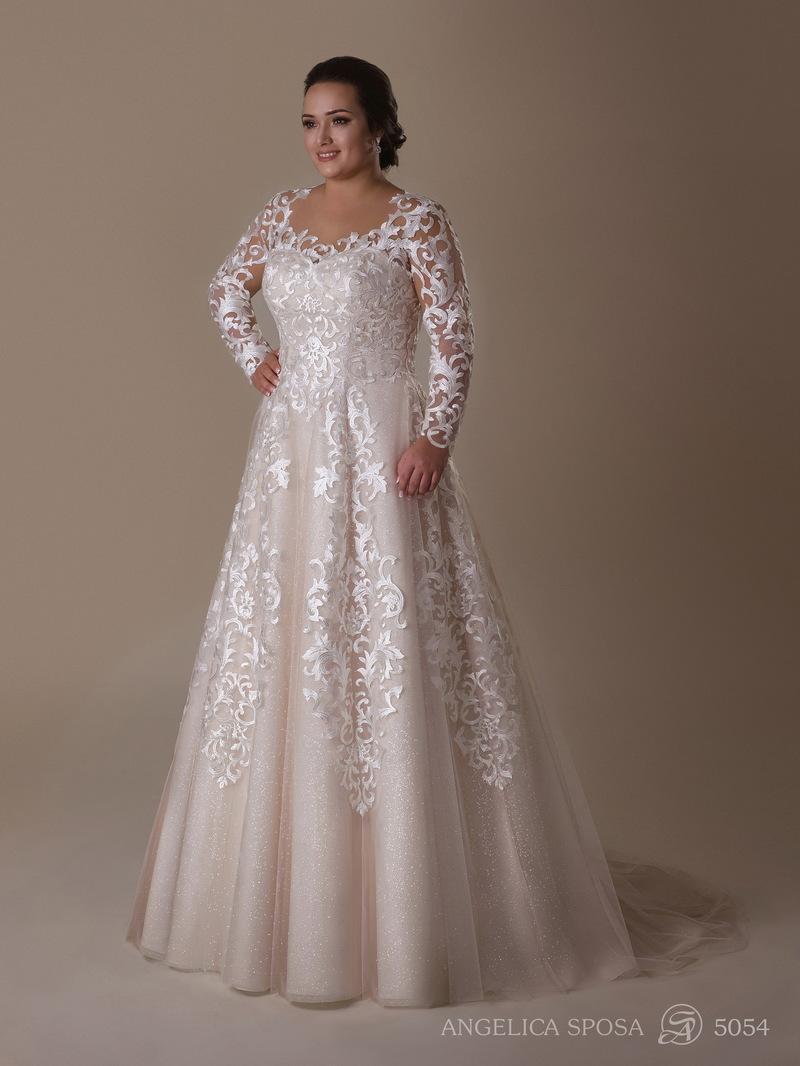 Vestido de novia Angelica Sposa 5054