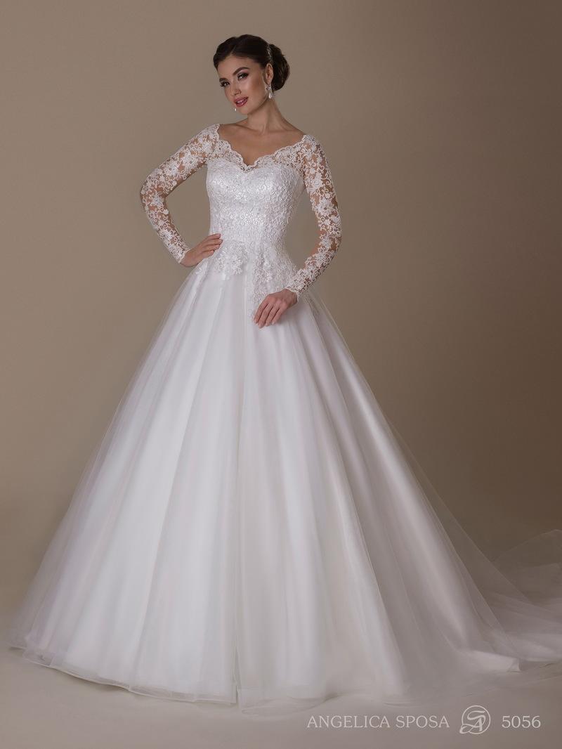 Vestido de novia Angelica Sposa 5056