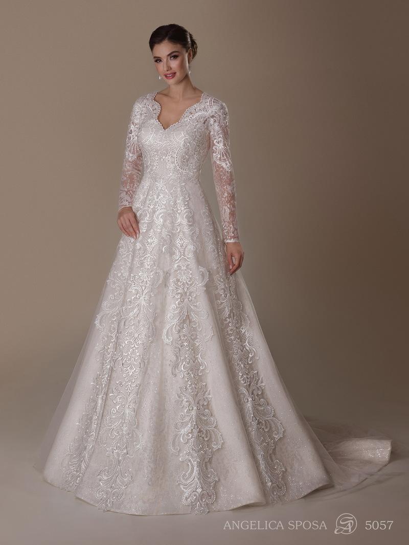 Vestido de novia Angelica Sposa 5057