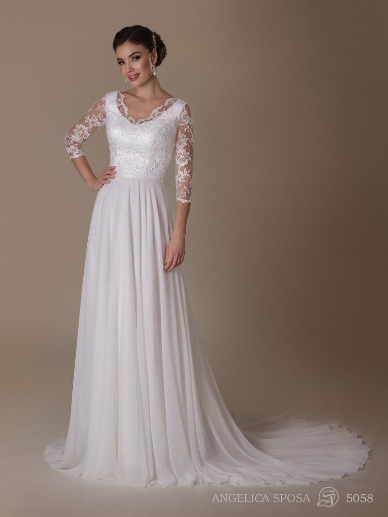 Vestido de novia Angelica Sposa 5058