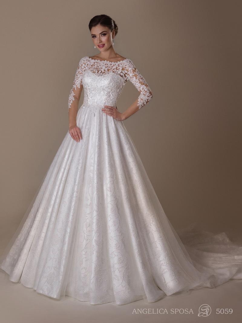 Vestido de novia Angelica Sposa 5059