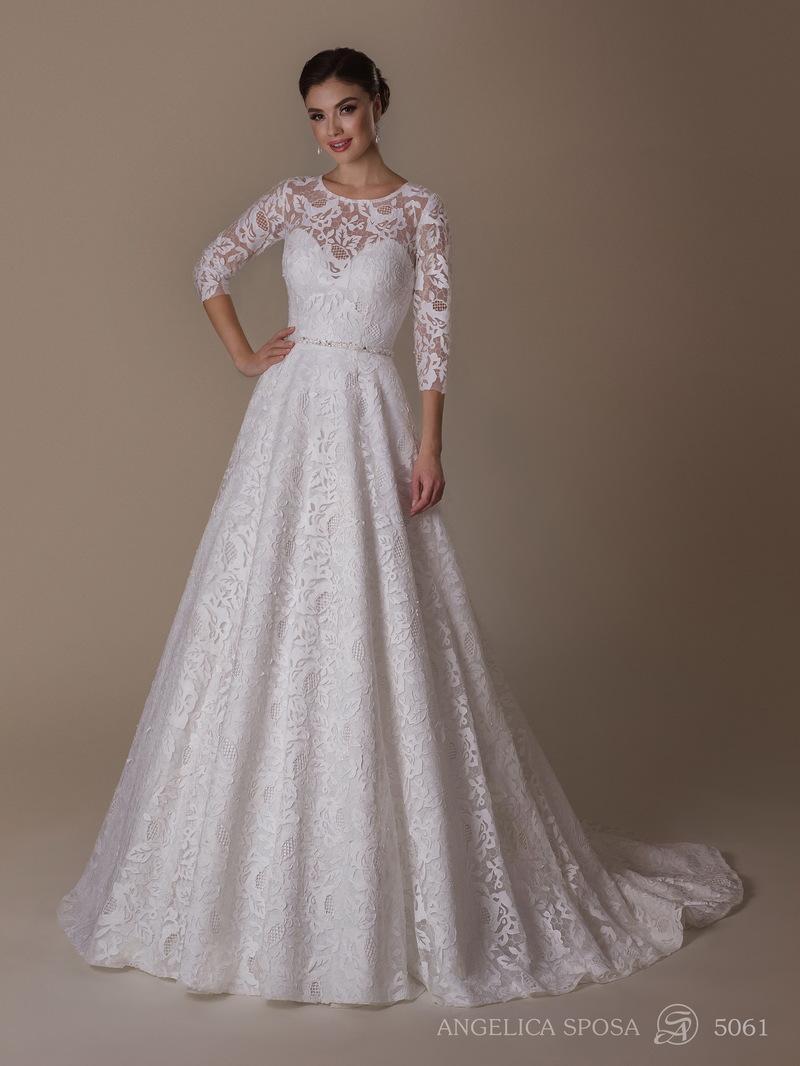 Vestido de novia Angelica Sposa 5061