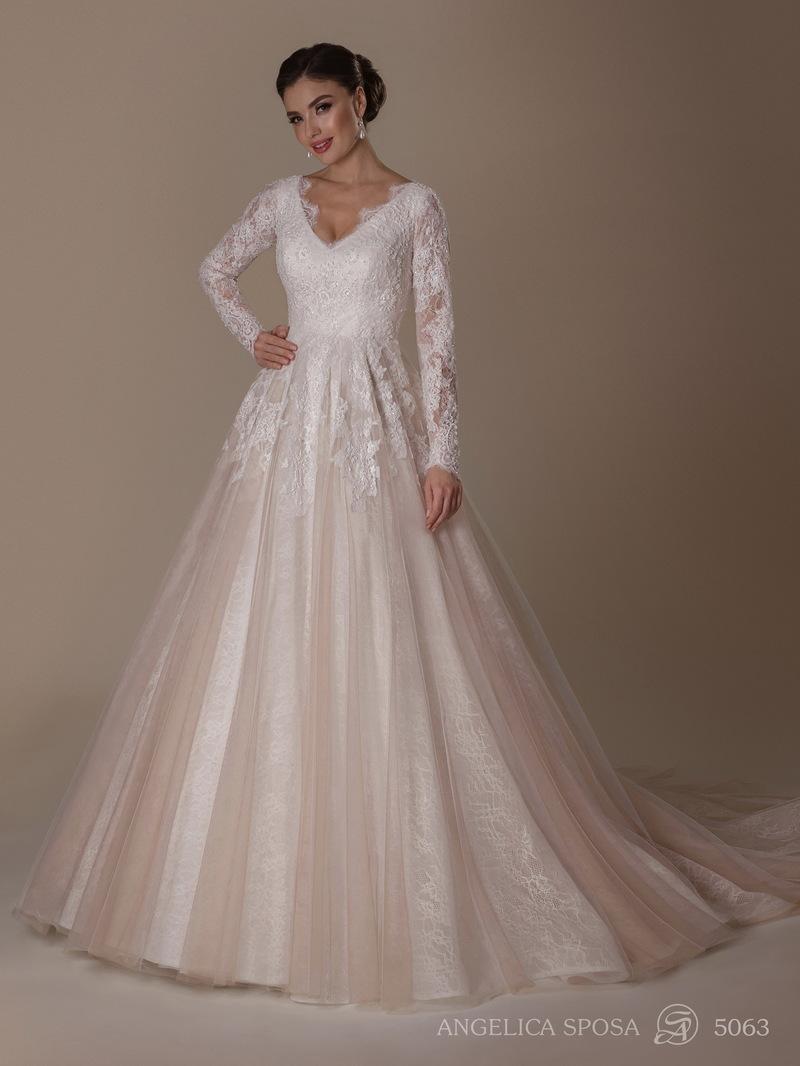 Vestido de novia Angelica Sposa 5063