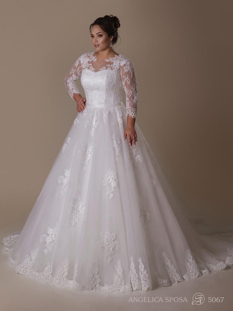 Vestido de novia Angelica Sposa 5067