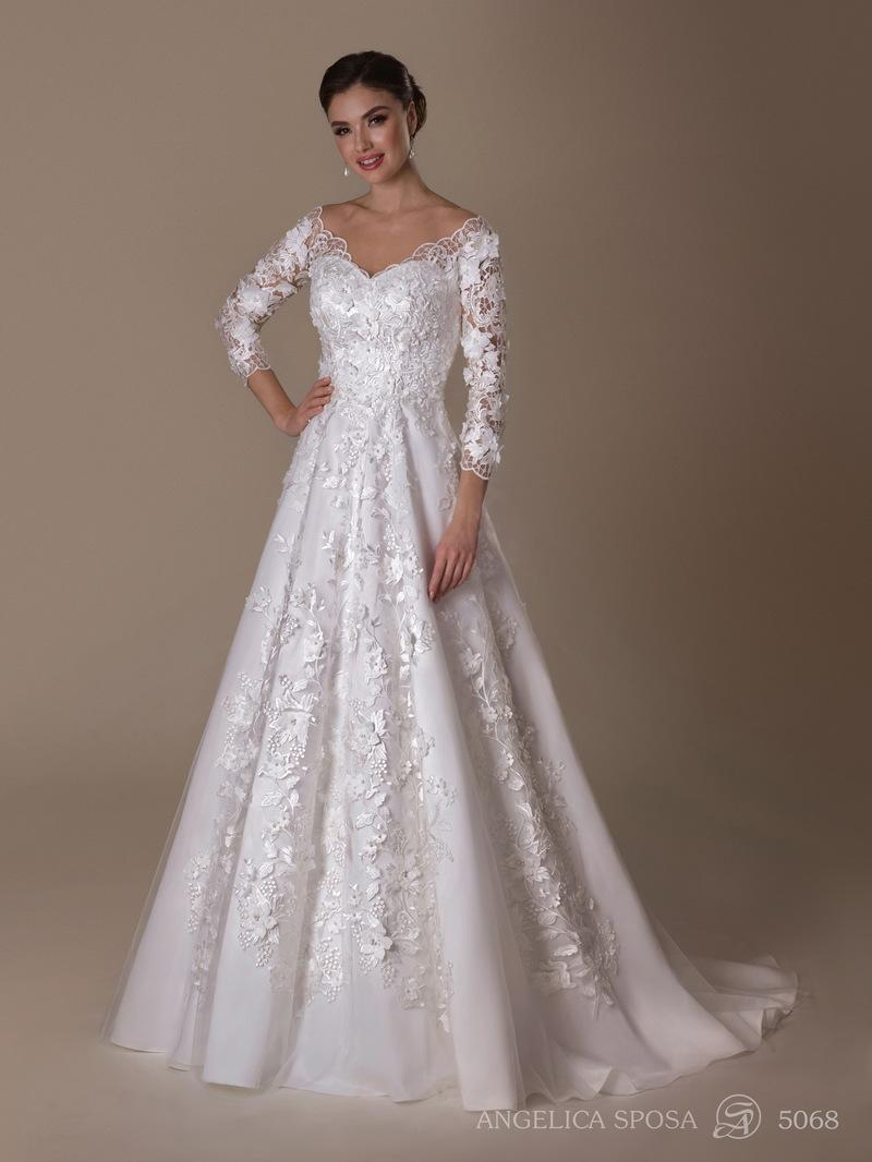 Vestido de novia Angelica Sposa 5068