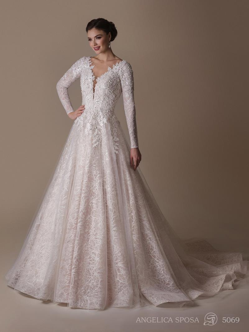 Vestido de novia Angelica Sposa 5069