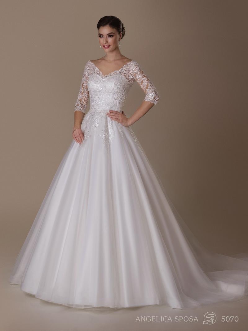 Vestido de novia Angelica Sposa 5070