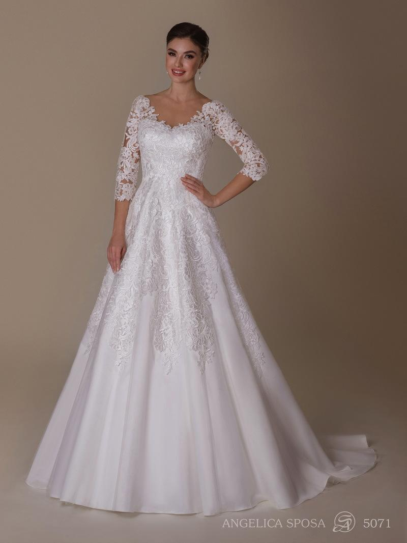 Vestido de novia Angelica Sposa 5071