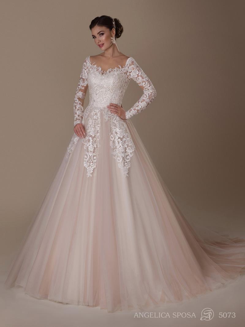 Vestido de novia Angelica Sposa 5073