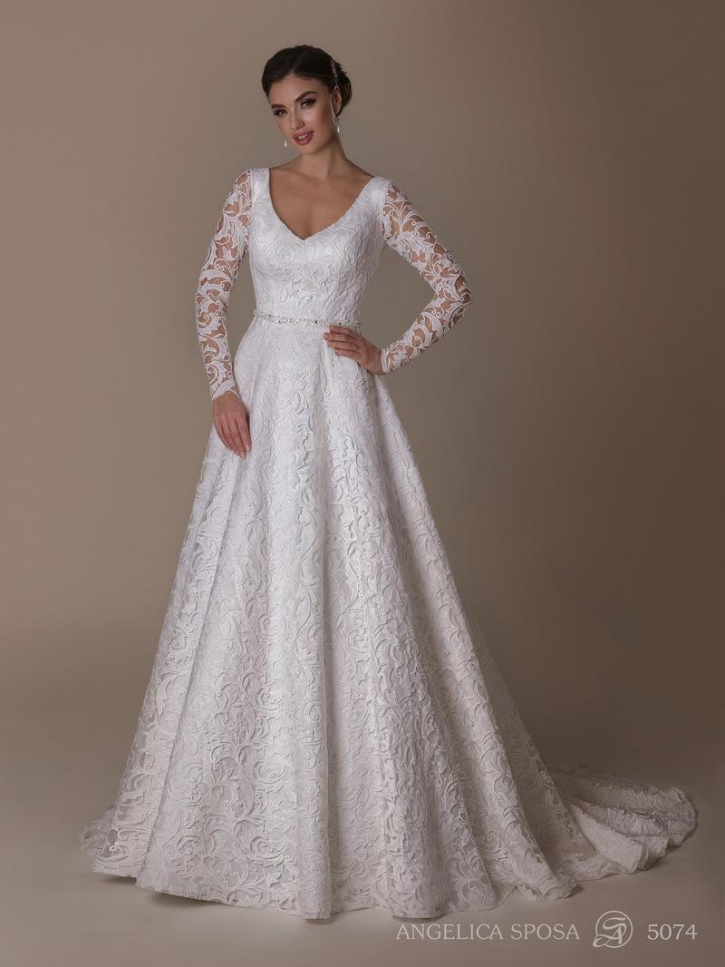 Vestido de novia Angelica Sposa 5074
