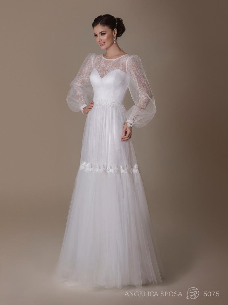 Vestido de novia Angelica Sposa 5075